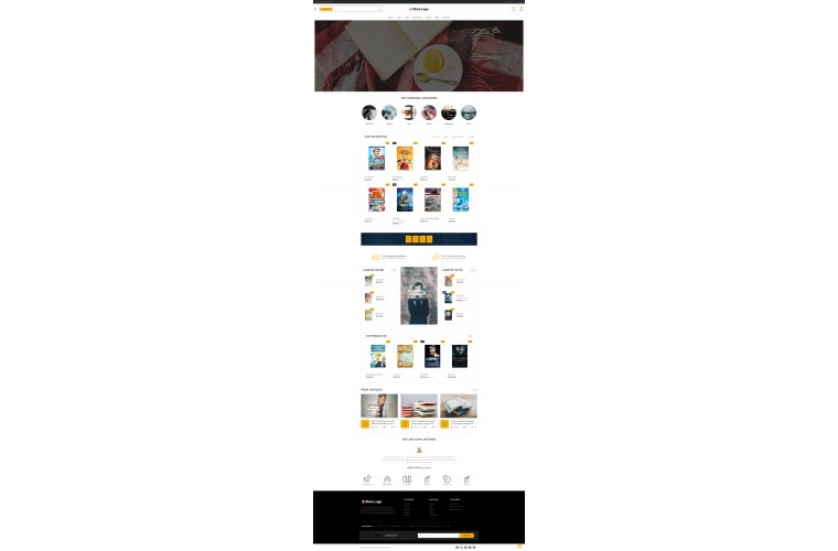 Books eMarket - Multipurpose MarketPlace OpenCart 3 Theme