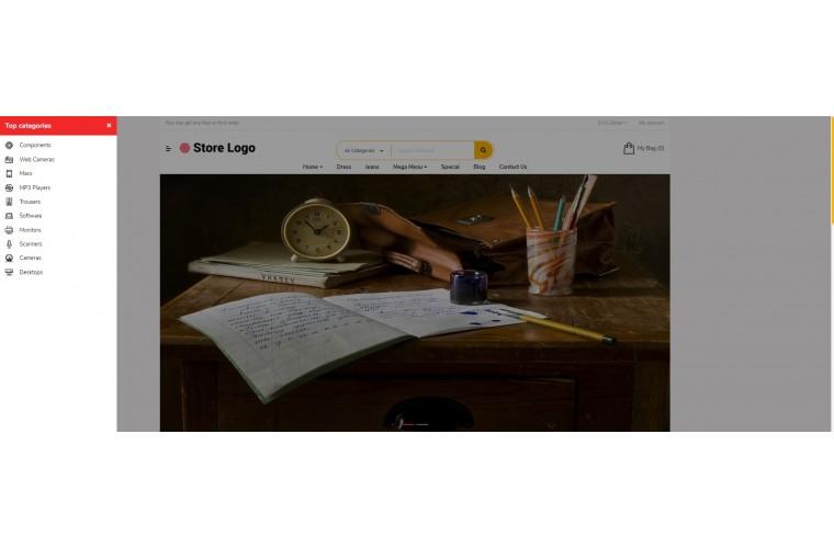 Sellya Stationery Multi-Purpose Responsive OpenCart Theme