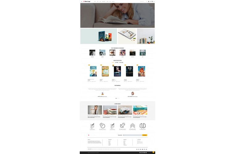 OXY Stationery - Multi-Purpose Responsive OpenCart 3 Theme