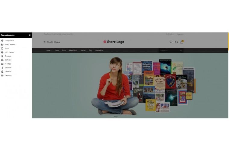 Books Bigshop Advanced Responsive OpenCart Theme