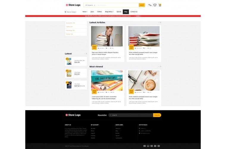 Books Market Shop - Advanced OpenCart Theme
