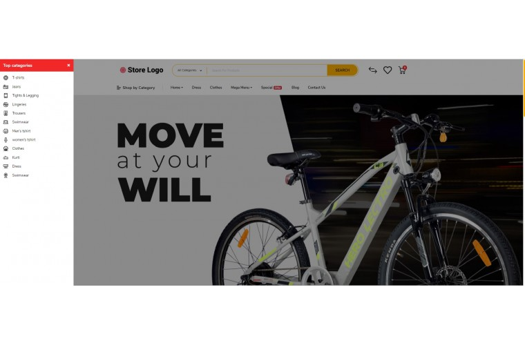 Electric bike Battery Opencart 3 opencart 4 Responsive theme