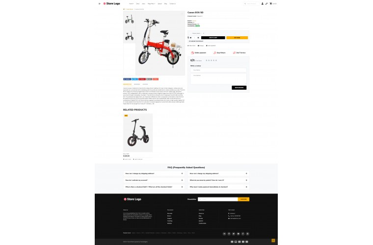 OXY Battery - Multi-Purpose Responsive OpenCart 3 Theme