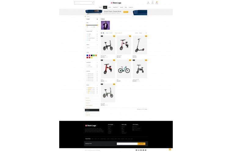 Next Battery Shop - Responsive OpenCart theme