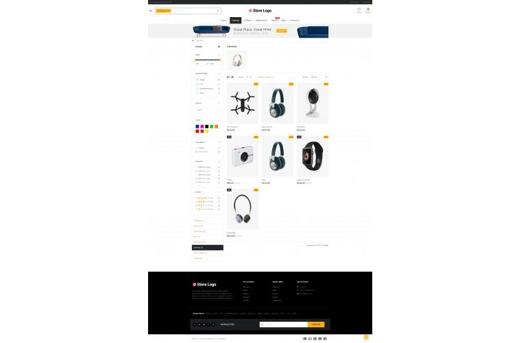Shopica Electronics Advanced Opencart Theme