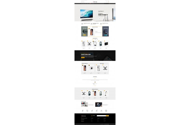 Electronics Market Shop - Multi-Purpose OpenCart Theme