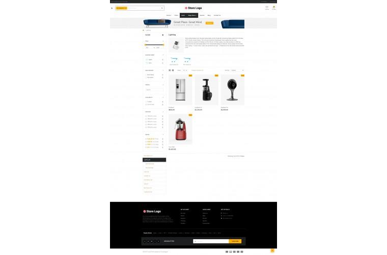 Electronics eMarket - Multipurpose MarketPlace OpenCart 3 Theme