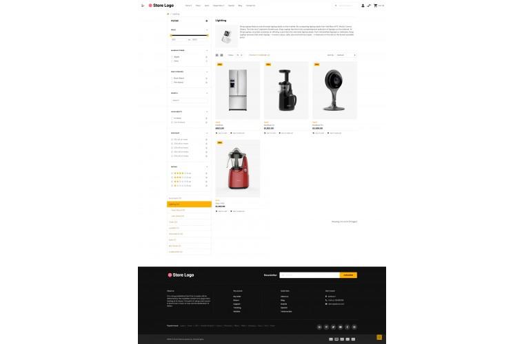 OXY Electronics - Multi-Purpose Responsive OpenCart 3 Theme