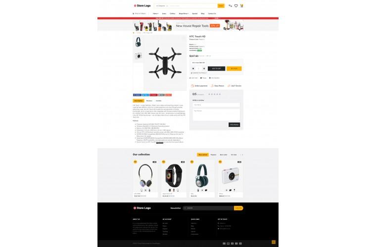 Electronics Market Shop - Advanced OpenCart Theme