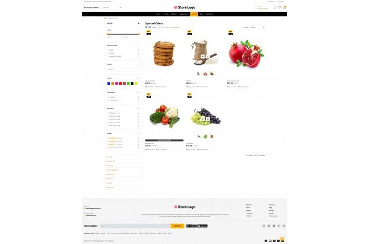OC Grocery Multi Purpose Opencart theme