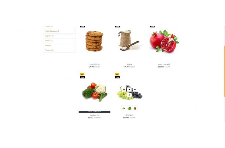 Easy Grocery Multi purpose Opencart theme