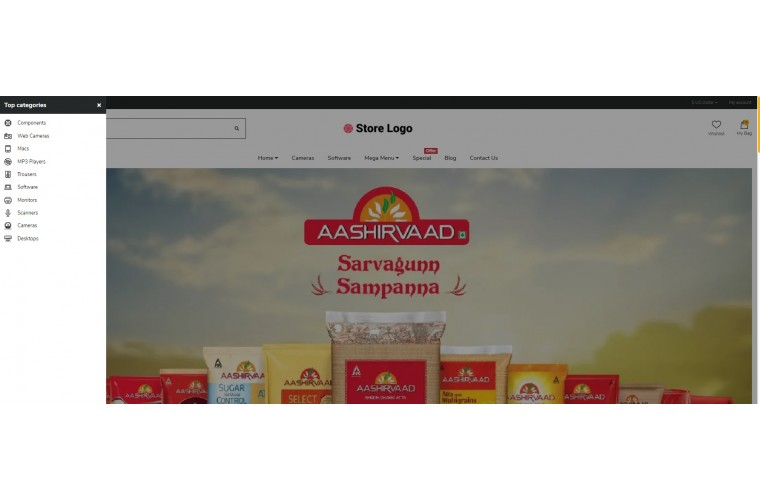 Shopica Grocery Advanced Opencart Theme