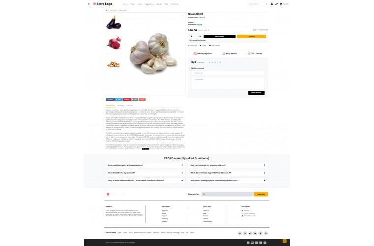 OXY Provisions - Multi-Purpose Responsive OpenCart 3 Theme