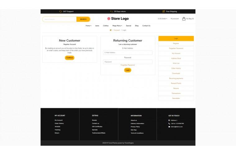 Grocery Revo - Drag & Drop Multipurpose OpenCart Theme
