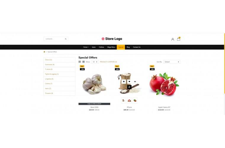 Light Provisions Grocery Premium Opencart theme