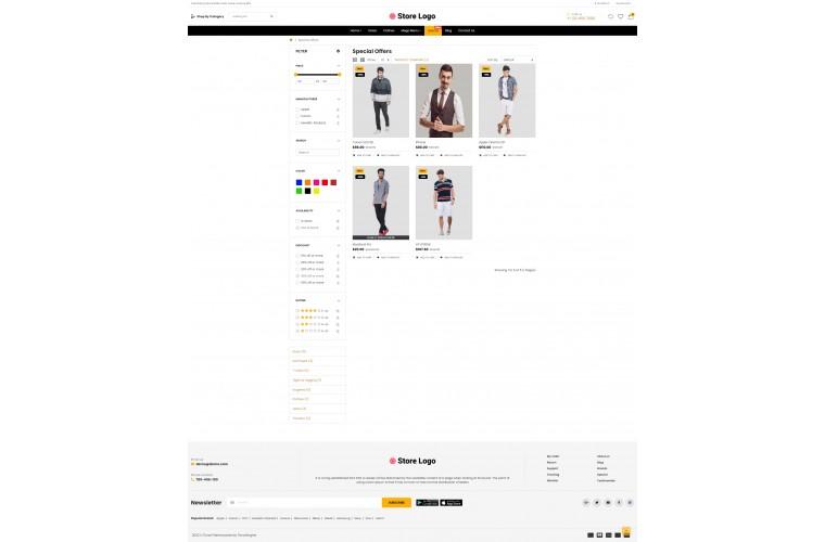 OC Clothing Multi Purpose Opencart theme