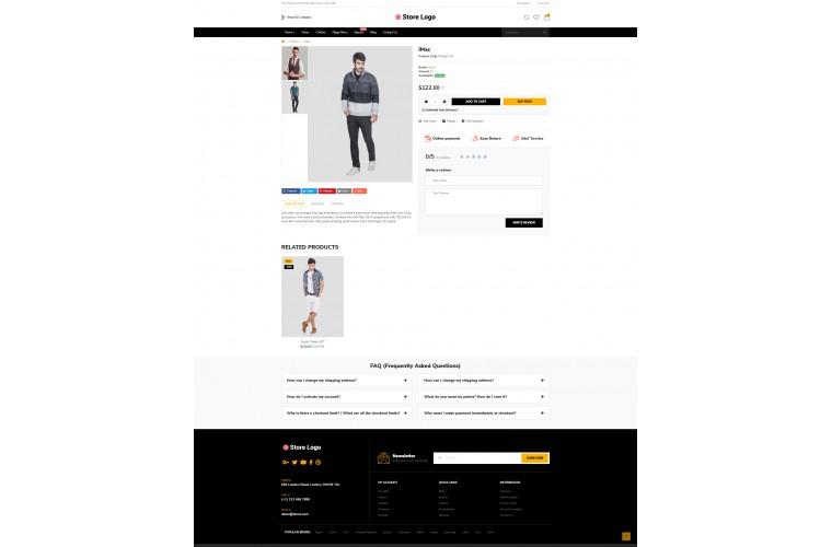 Easy Clothing Multi purpose Opencart theme