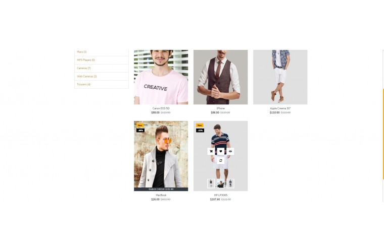 Clothing Market Shop - Multi-Purpose OpenCart Theme