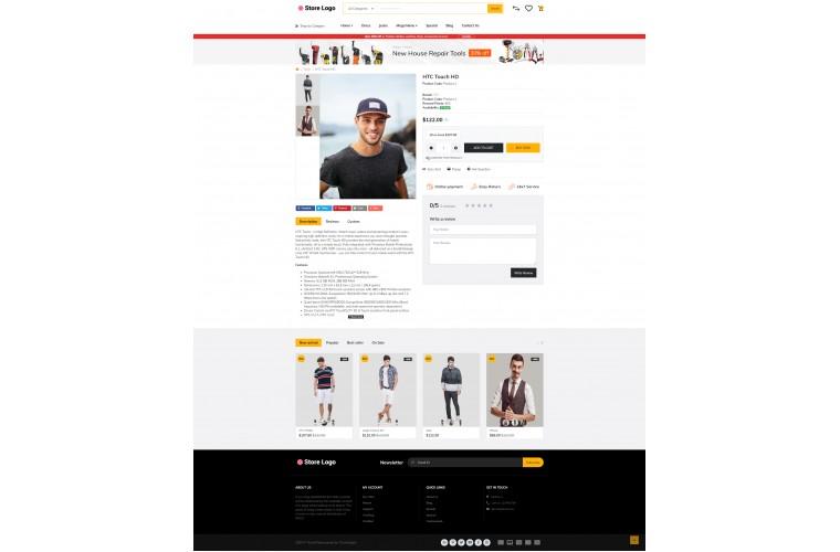 Rzen Clothing - Multi-Purpose OpenCart Theme