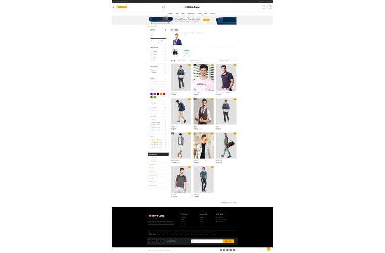 Clothing eMarket - Multipurpose MarketPlace OpenCart 3 Theme