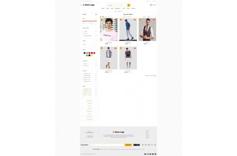 Sellya Apparel Multi-Purpose Responsive OpenCart Theme