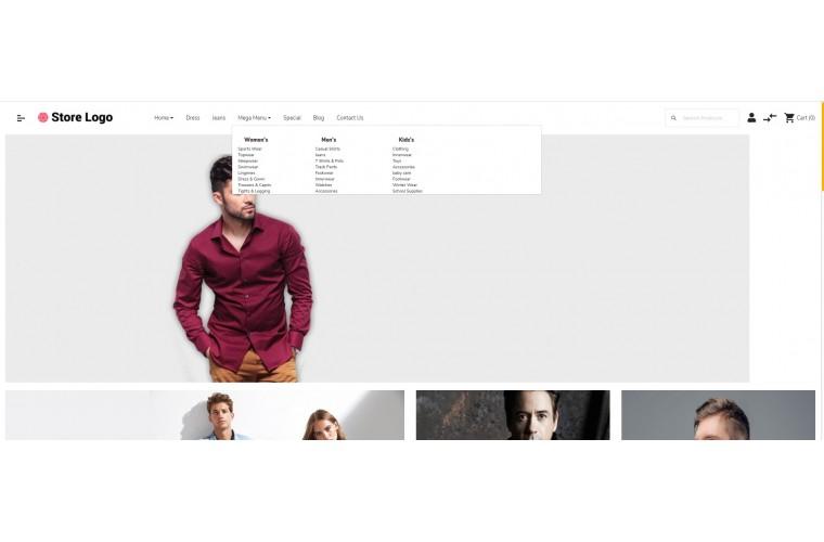 OXY Apparel - Multi-Purpose Responsive OpenCart 3 Theme