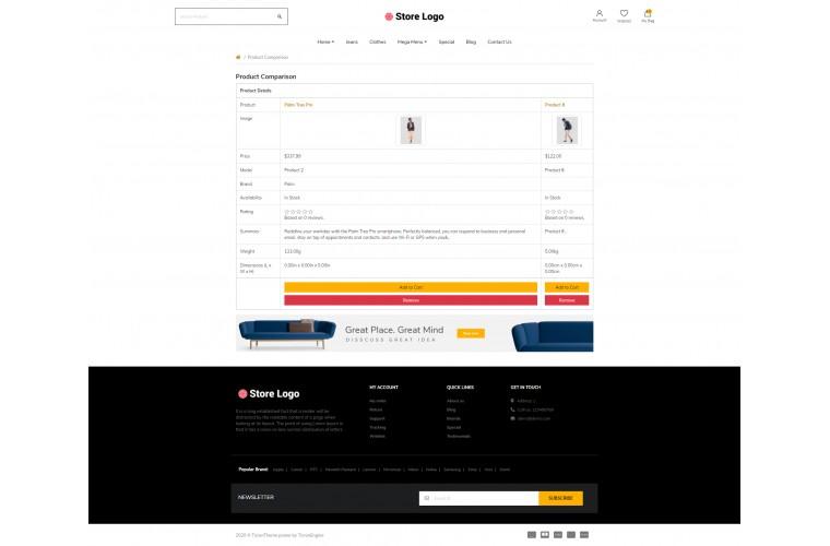 Next Apparel Shop - Responsive OpenCart theme