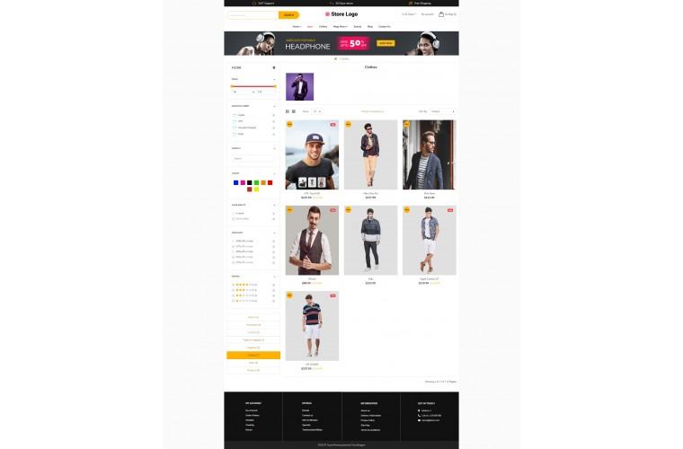 Clothing Revo - Drag & Drop Multipurpose OpenCart Theme