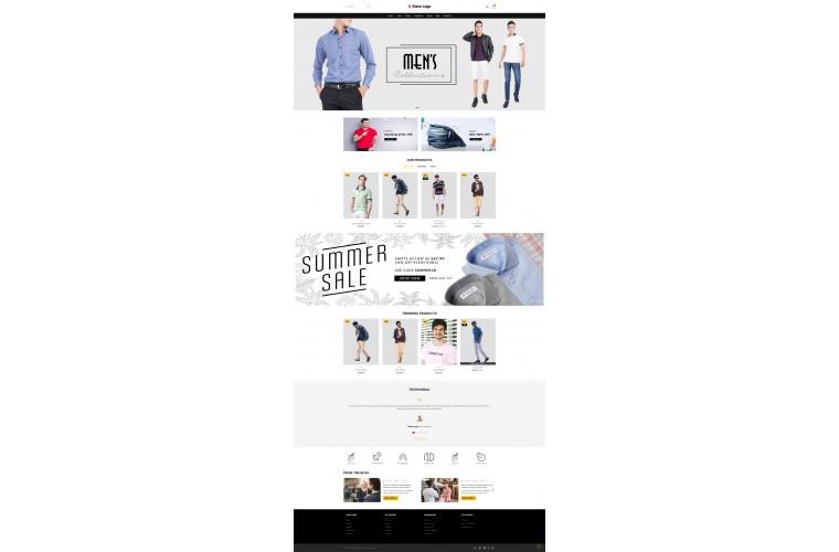 Light Apparel Clothing Premium Opencart theme