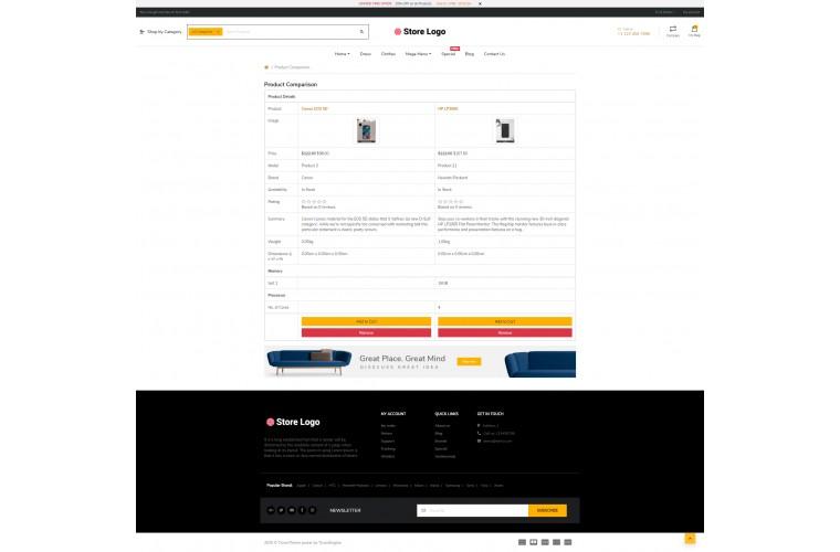 NUVO - Mobile case & Cover Opencart 3 Multipurpose theme