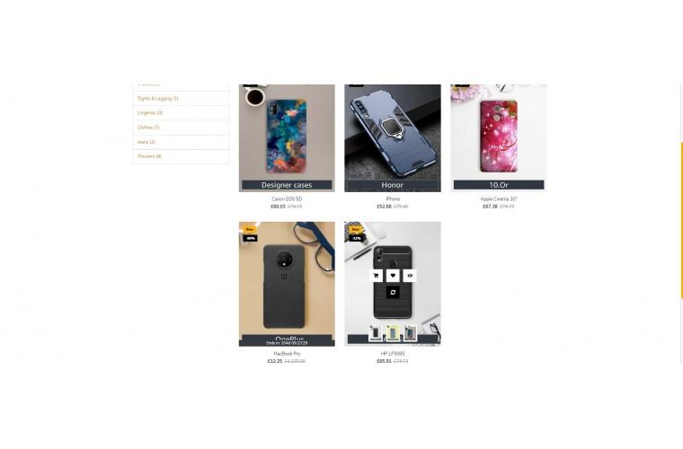 Easy Mobile case Multi purpose Opencart theme