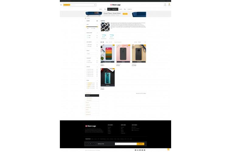 Mobile case eMarket - Multipurpose MarketPlace OpenCart 3 Theme