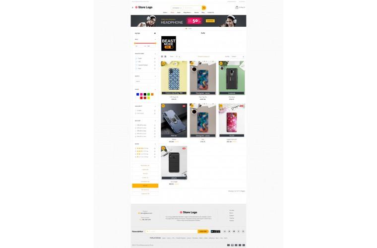 Sellya Cover Multi-Purpose Responsive OpenCart Theme