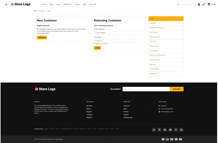 OXY Cover - Multi-Purpose Responsive OpenCart 3 Theme