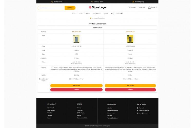 Mobile case Revo - Drag & Drop Multipurpose OpenCart Theme