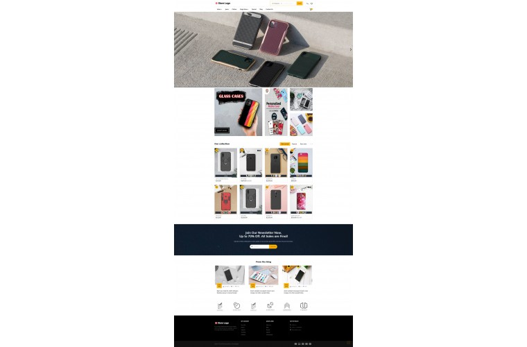 Faster Cover Pro Opencart theme