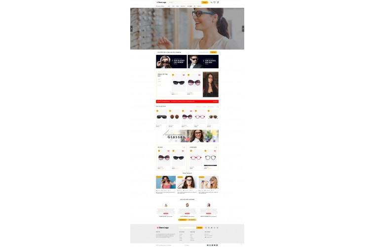 Optical Spects Opencart 3 opencart 4 Responsive theme