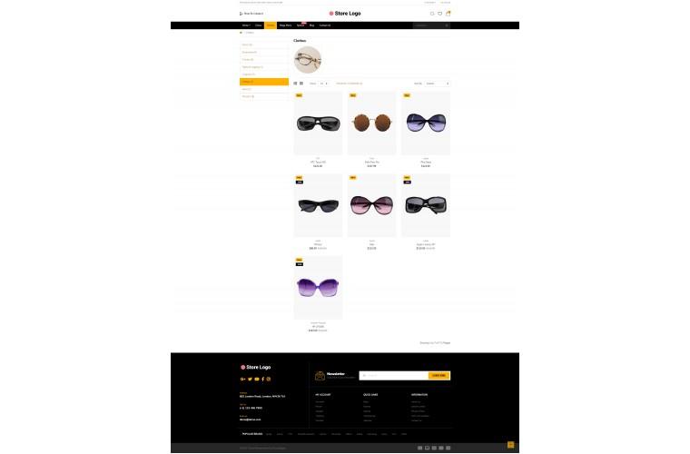 Easy Optical Multi purpose Opencart theme
