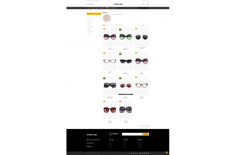 Optical Market Shop - Multi-Purpose OpenCart Theme