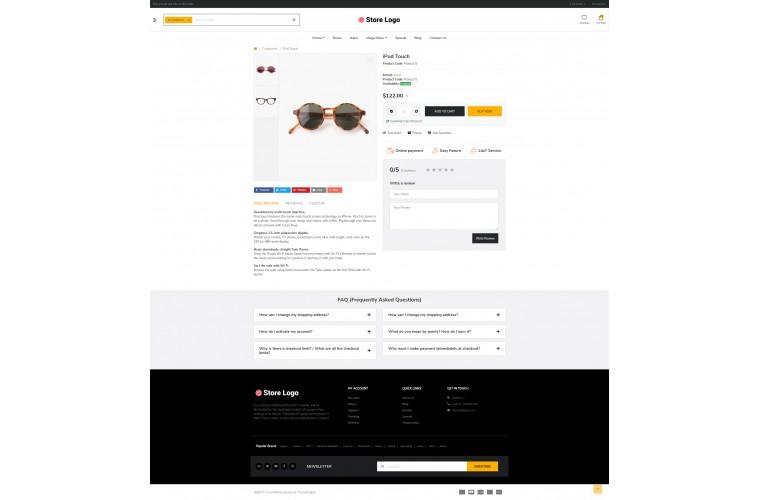 Optical eMarket - Multipurpose MarketPlace OpenCart 3 Theme