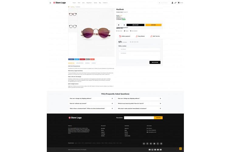 OXY Spects - Multi-Purpose Responsive OpenCart 3 Theme