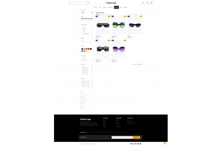 Next Spects Shop - Responsive OpenCart theme