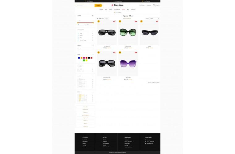 Optical Revo - Drag & Drop Multipurpose OpenCart Theme