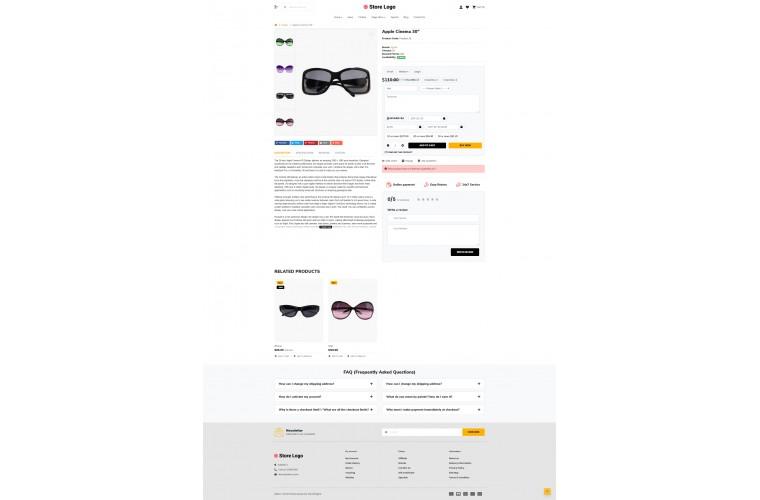 Fast Optical Advanced Opencart theme